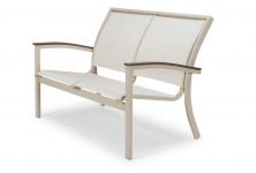 outdoor sling furniture bazza bench