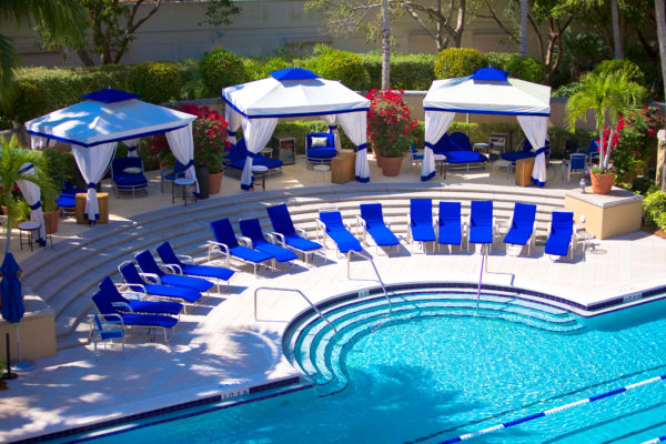 hotel beach pavillion