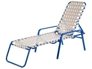 outdoor strap furniture windward chaise