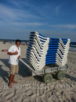 Custom Beach Carts hotel quality