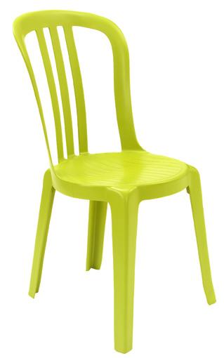 Grosfillex Resin Miami Bistro Sidechair Resort Chairs
