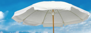 Fiberbuilt Brand Beach Umbrella