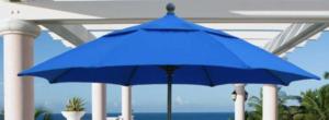 Fiberbuilt Brand Crank Open Market Umbrella