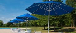 Frankford Brand Fiberglass Market Umbrella
