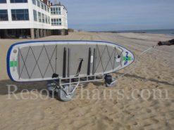 custom stand up wheeleez paddleboard cart