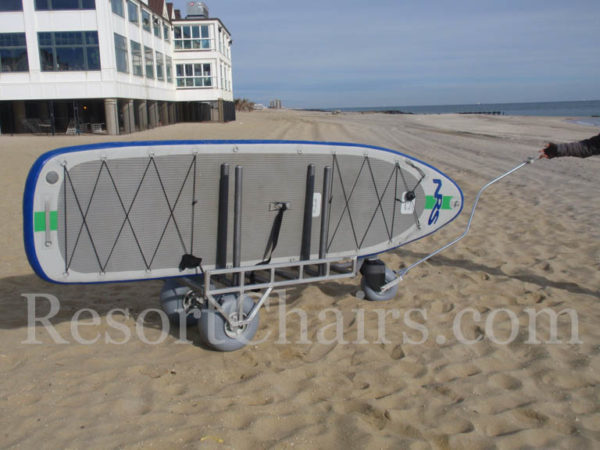 custom stand up wheeleez paddleboard cart