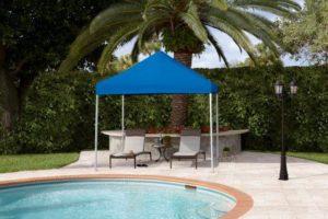 resort pop up tent