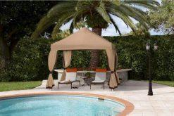 deluxe pop up tent commercial