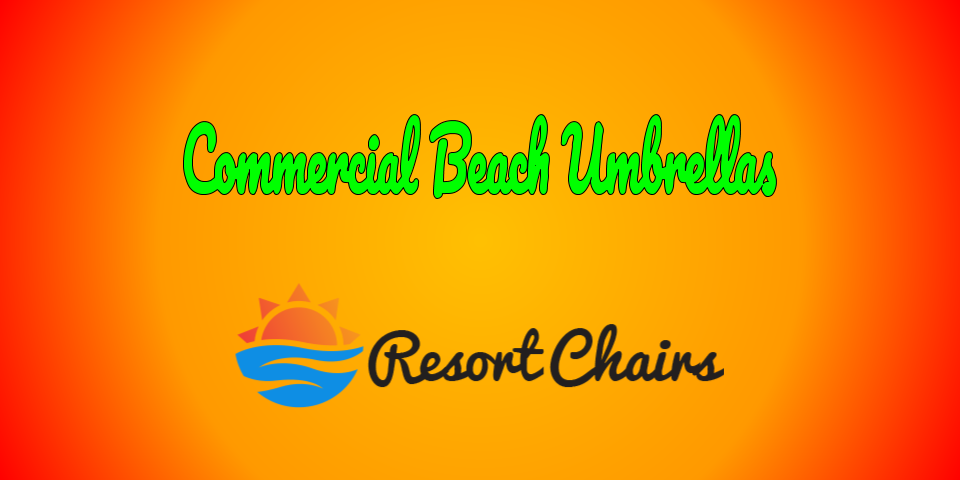 commercial beach umbrellas collection