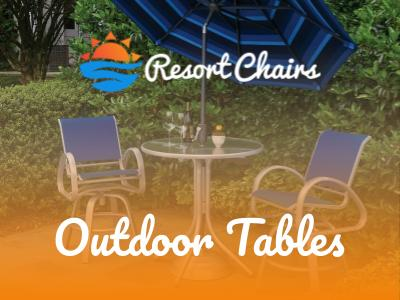 commercial outdoor tables